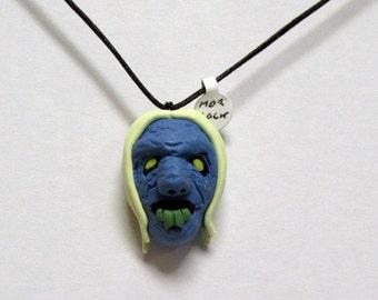OOAK Handmade Time Machine Morlock Necklace Halloween Movie Monster Creature Creepy Scary Cannibal