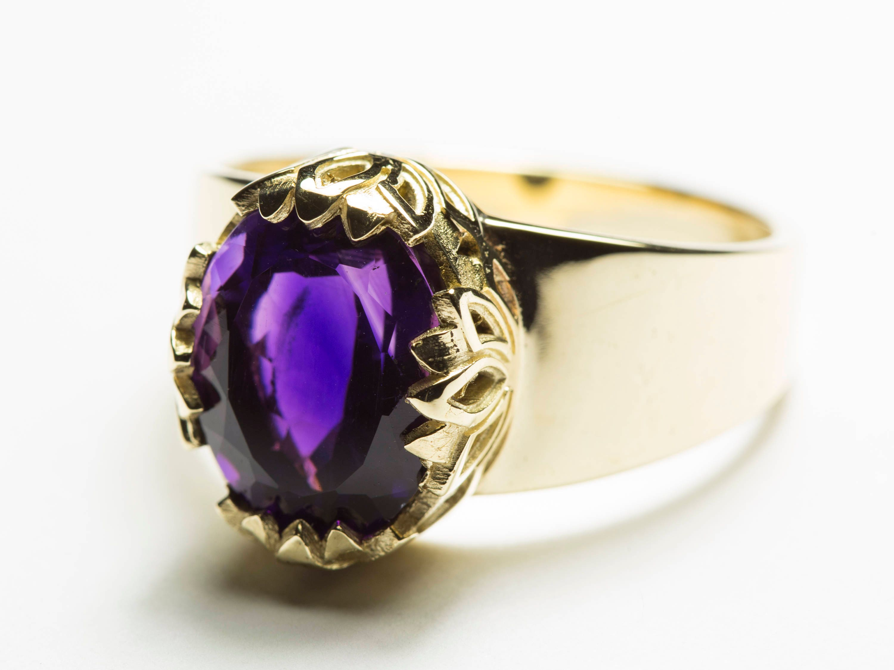 rings in engagement amethist amethyst elongated pav cushion white ring green and gold diamond image