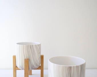 Cylinder Ceramic Planter
