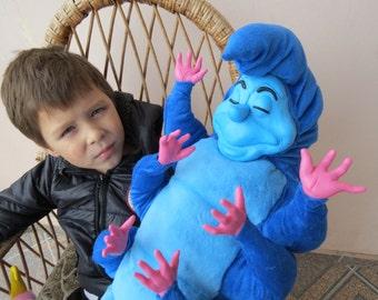 Walt Disney Caterpillar Alice and Wonderland - it's poseable! /// Polymer Clay ART Doll Plush fantasy Absolem Anthro furry