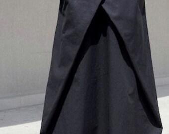Long skirt, modern skirt, fashion skirt, maxi skirt, oversize skirt, plus size skirt, smart long skirt, summer skirt, asymmetric skirt