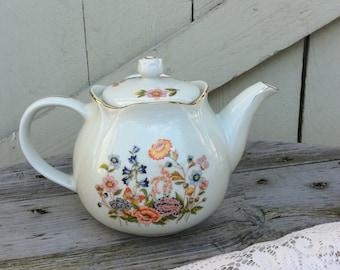 Vintage Robinson Design Group Floral Teapot