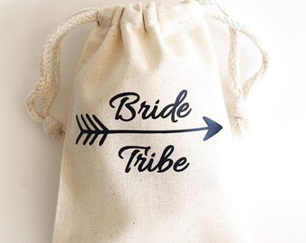 Bachelorette party favors - Bride Tribe - Bachelorette Party - Favor bags