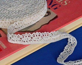 13 Yards of Cream Cluny Lace Trim 1 Inch Wide