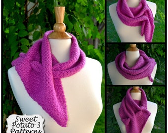 Interlace Scarf & Wrap Crochet Pattern