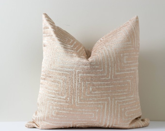 Rose Gold Shimmer Pillow Shiny Throw Pillow Pink Rose Gold Decorative Pillow Covers Metallic Finish Cushion Home Decor 18x18 20x20