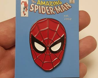 The Amazing Spider-Man limited edition 80s retro enamel pin