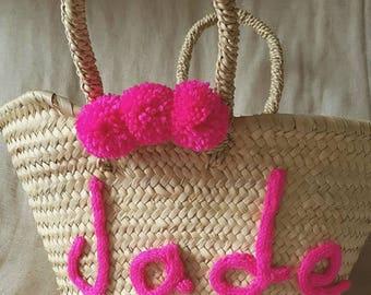 Kids personalized basket
