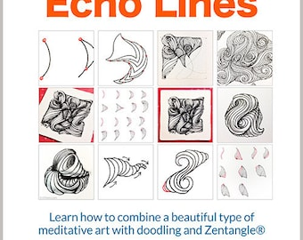 3D Tangle Echo Lines - Download PDF Tutorial Ebook