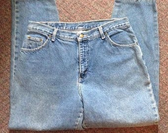 Vintage Hunt Club Women's Mom Jeans Size 16 High Waisted 100% Cotton