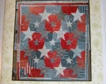 Patriot quilt pattern by Linen Closet Designs, Dawn Heese