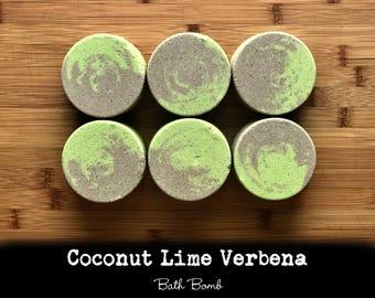 Coconut Lime Verbena Bath Bombs