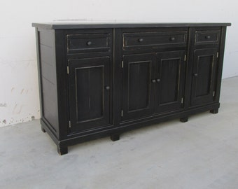 Sideboard, Server, Buffet, Console Table, Reclaimed Wood, Console Cabinet, Rustic, Handmade