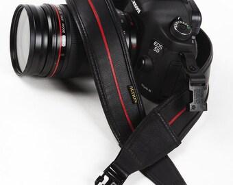 L Custom Leather Camera Strap