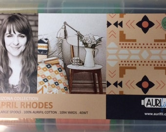 April Rhodes ARIZONA Collection Aurifil Threads 40 wt. Large Spools
