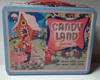 Repro Candy Land lunchbox from the 1990's