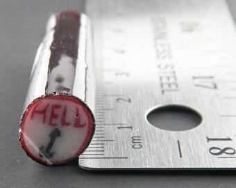 Hell by Greg Chase Murrine Boro Cane 7 grams - 67N