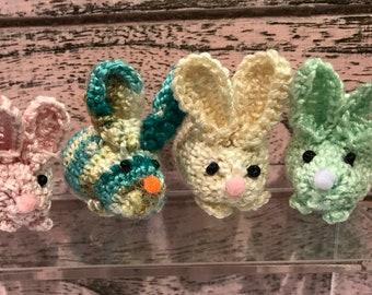 Amigurumi Handmade Crocheted Tiny Rabbits