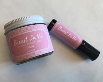 Breast La Vie Cream and Oil Duo Set