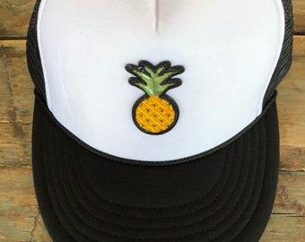 YOUTH / TEEN Pineapple Patch Trucker Hat Baseball Cap Snap Back