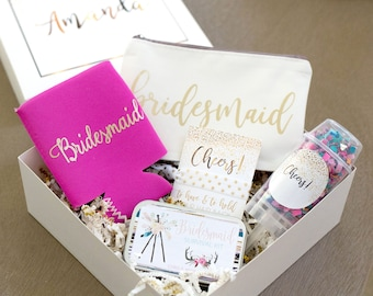 Bridesmaid Box - Bridesmaid Proposal - Bridesmaid Gift - Gift for Bridal Party - Maid of Honor Gift - Will you be my Bridesmaid Gift