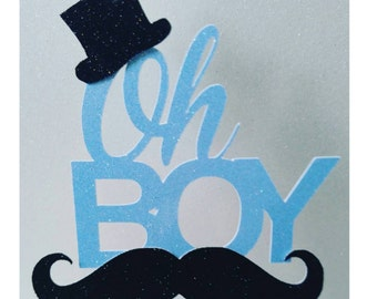 Mustache cake topper,mustache baby shower,mustache bash