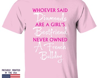 Gifts for French Bulldog lovers Diamond bestfriend Ttd1