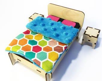 Eco - furniture for little dolls! BEDROOM