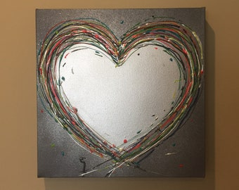 Love' Funky original painting