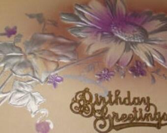 Lovely Vintage Floral Postcard
