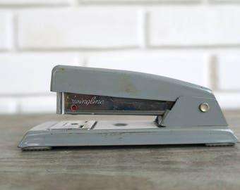 Swingline Stapler, Industrial Office Decor, Steampunk Office Decor, Vintage Stapler, Office Decor