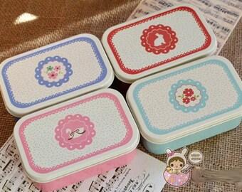 Mini Floral Tin Box