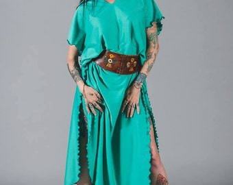That Look! from California aqua tunic dress (belt not included)