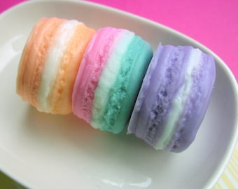 Womens Gift Set. FRENCH MACARON SOAP Gift Set,  Gift for Her, Gifts for Teens, Pastels, Gift for Mom, Spring Gift. Grandmother, For Her
