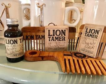 Beard Oil by Lion Tamer Grooming.