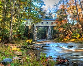 Windsor Mills Covered Bridge photo