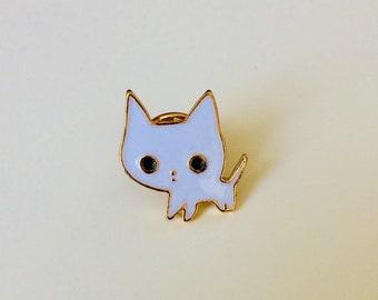 Cat | Cat Lady | I Heart Cats | Cute | Pin | Badge | Retro | Hipster | Upcycle | Accessory | Modify