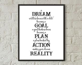 prints for office walls. Motivational Wall Decor,teen Art,boys Bedroom,dorm Decor,quote Prints For Office Walls I