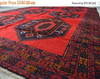 45 % OFF BIG SALE Vintage Medallion Flat weave area rug