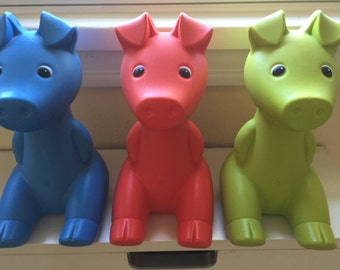 Vintage piggy bank designed by Monika Moulder for IKEA 1980s (1)