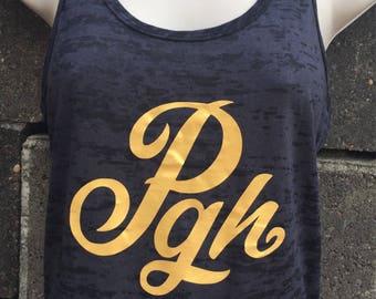 PGH Women's Burnout Tank Top