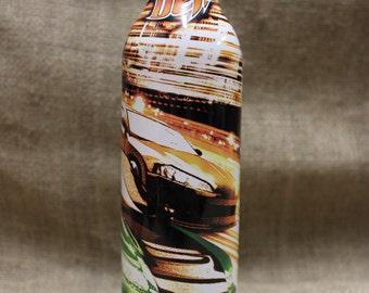 Tokyo Drift Mountain Dew Aluminium  Dew Art Bottle Un-opened