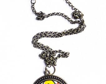 Single Pendant Ankara Necklace