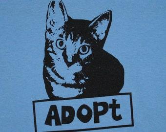 Adopt Cat Womens Tee