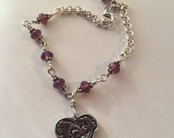 Plum Lovely Bracelet
