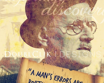 James Joyce Poster