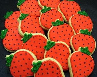 Strawberry Cookies - 12 Cookies