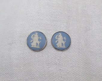 Wedgewood Jasperware Stud Earrings
