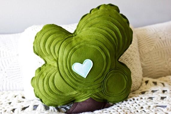 Tree Pillow - Oak Tree