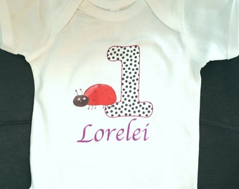 ladybug 1st birthday outfit | lady bug birthday
